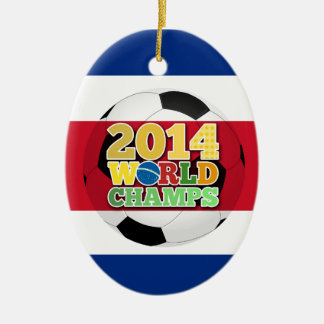2014 World Champs Ball - Costa Rica Ornaments