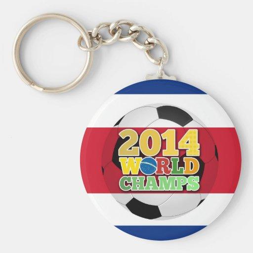 2014 World Champs Ball - Costa Rica Key Chains