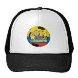2014 World Champs Ball - Ecuador Trucker Hat