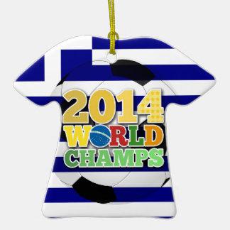 2014 World Champs Ball - Greece Ornament