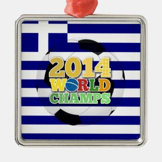 2014 World Champs Ball - Greece Ornaments