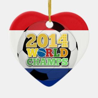 2014 World Champs Ball - Holland Christmas Ornaments