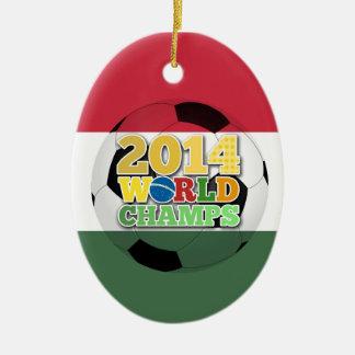 2014 World Champs Ball - Hungary Ornament
