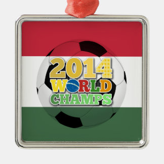 2014 World Champs Ball - Hungary Christmas Tree Ornaments