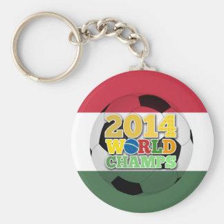 2014 World Champs Ball - Hungary Key Chains