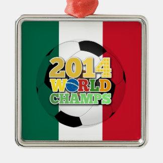 2014 World Champs Ball - Mexico Christmas Ornaments