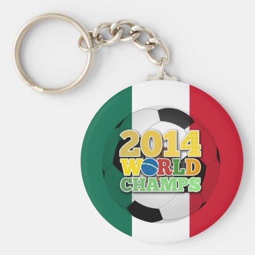 2014 World Champs Ball - Mexico Key Chain