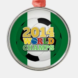 2014 World Champs Ball - Nigeria Christmas Tree Ornaments