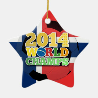 2014 World Champs Ball - Norway Christmas Tree Ornament