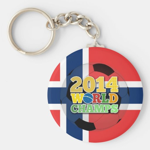 2014 World Champs Ball - Norway Keychains