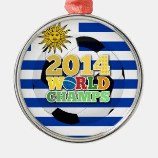 2014 World Champs Ball - Uruguay Ornament