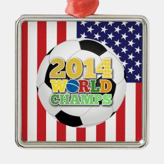 2014 World Champs Ball - USA Christmas Tree Ornaments