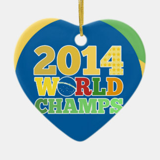 2014 World Champs - Bra Christmas Tree Ornament