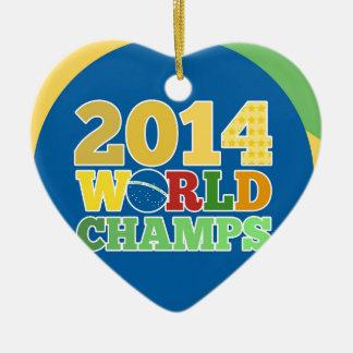 2014 World Champs - Bra Christmas Tree Ornament
