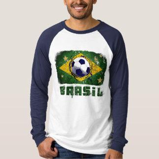 2014 World Cup fans Brazil flag Brasil style Samba T-Shirt