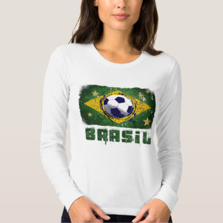 2014 World Cup fans Brazil flag Brasil style Samba T Shirts