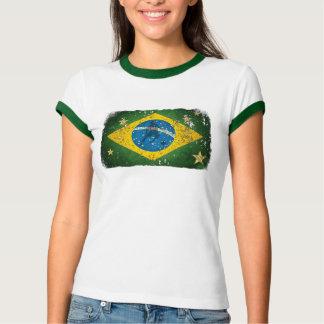 2014 World Cup fans Brazil flag Brasil style Samba Tshirts