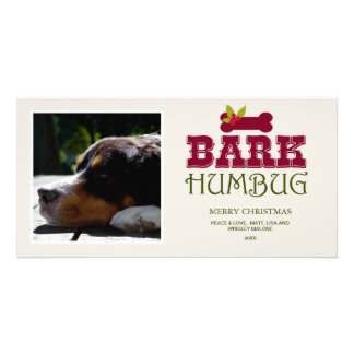 2015 BARK HUMBUG | Holiday Photo Card