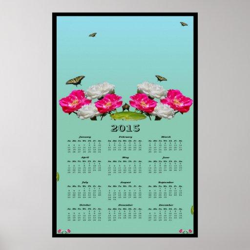 2015 Beautiful Nature calendar Print