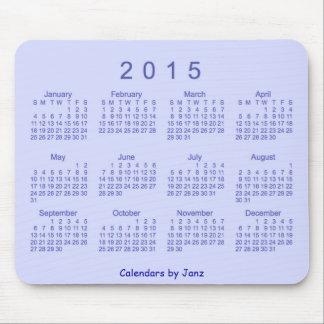 2015 Blueberry Pie Calendar by Janz Mousepad