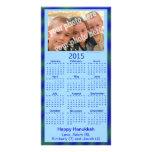 2015 Calendar Card Happy Hanukkah Custom Photo