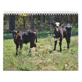2015 Calves Wall Calendars