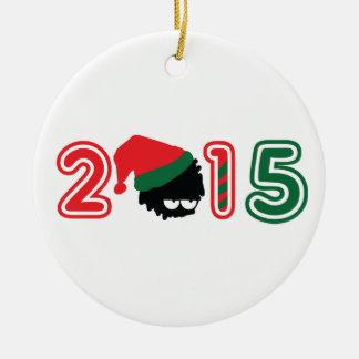 2015 Christmas Circle Ornament