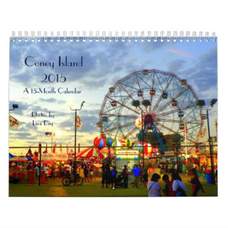 2015 Coney Island 15-Month Calendar