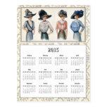 2015 Edwardian Fashion Calendar Postcard