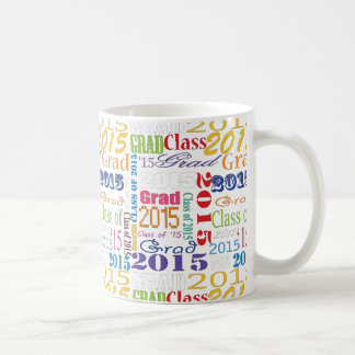 2015 Graduate Basic White Mug
