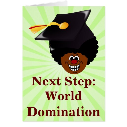 2015 Graduation Domination Note Card
