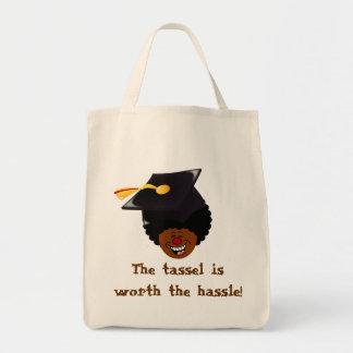 2015 Graduation Tassel Hassle Grocery Tote Bag