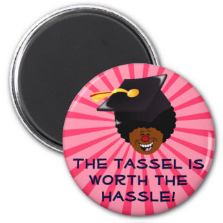 2015 Graduation Tassel Hassle 6 Cm Round Magnet