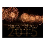 2015 Holidays Customisable Corporate Cards -