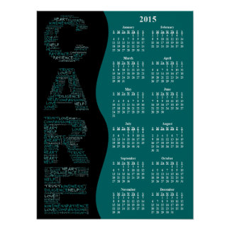 2015 Hospice Embodies a Spirit of Care Calendar Posters