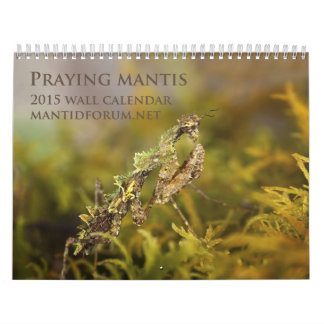 2015 Mantidforum.net Wall Calendar