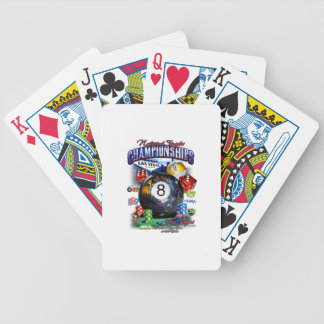 2015 National Singles Championship Bicycle Playing Cards