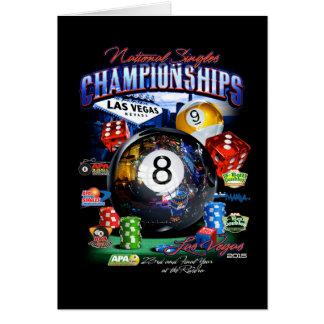 2015 National Singles Championship Card