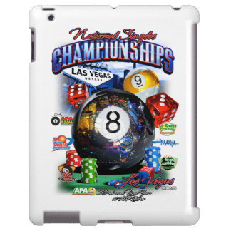 2015 National Singles Championship iPad Case