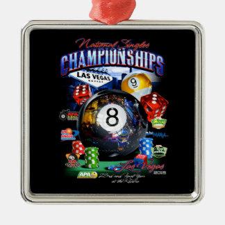 2015 National Singles Championship Christmas Ornament