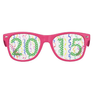 2015 New Year Party Streamers Kids Sunglasses