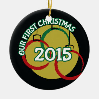 2015 Our First Christmas Ornament