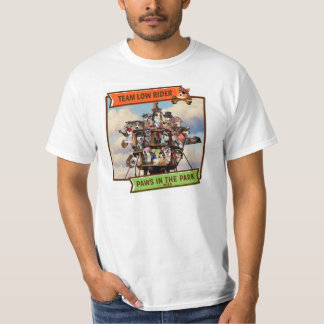 2015 Paws in the Park Value T-shirt: One Sided Tshirt