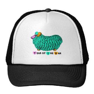 2015 Ram Sheep Goat Year - Chinese New Year - Trucker Hats