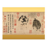 2015 Sheep & Goat Year Chinese Painting Postcards