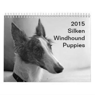 2015 Silken Windhound Puppies Calendars