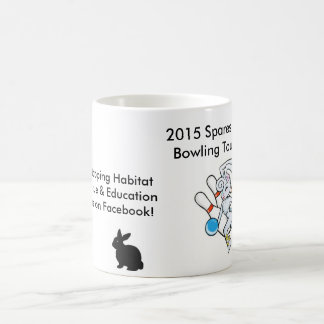 2015 Spares for Hares Collectible Drinkware Basic White Mug