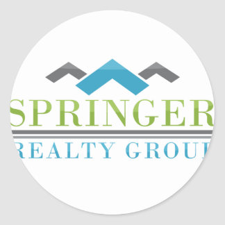 2015 Springer Realty Group_Logo XL.png Round Sticker
