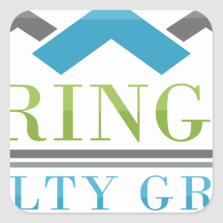 2015 Springer Realty Group_Logo XL.png Square Sticker