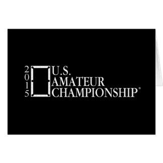 2015 U.S. Amateur Logo Card